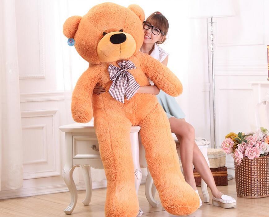 NOUVEAU NOUVEAU TEDDY BEAR POUCHES PIGÉES GIANT JUMBO BEG TEDDY BEAR BEAR BEAR cadeau cadeau de Noël cadeaux d'angle d'angle droit poupées en peluche animal