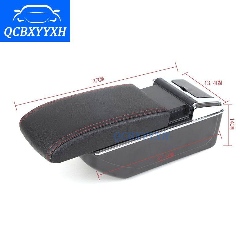 Автомобильный подлокотник для Kia K2 2011-2016 Центральный магазин Ящик для хранения контента с подстаканник пепельница аксессуары стайлинга автомобилей ABS материал
