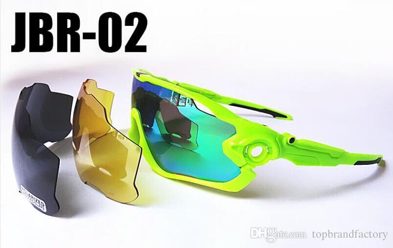New Fashion óculos óculos Jaw sol por Homens Mulheres Olhos Protec Esportes Ciclismo bicicleta executando Mens Óculos de Sol óculos