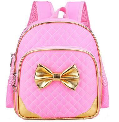4daa87791399 Fashion Cute Nylon Girl Pink Backpack New 2017 Children School Bags Girls  School Bow Backpacks Child Book Bag ZDD11102 Laptop Backpack Beach Bags  From ...