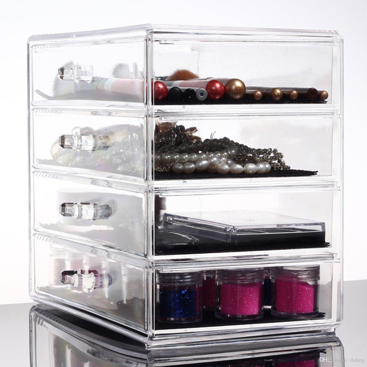Design Makeup Holder 2017 acrylic makeup holder cosmetic organiser box contains lip see larger image