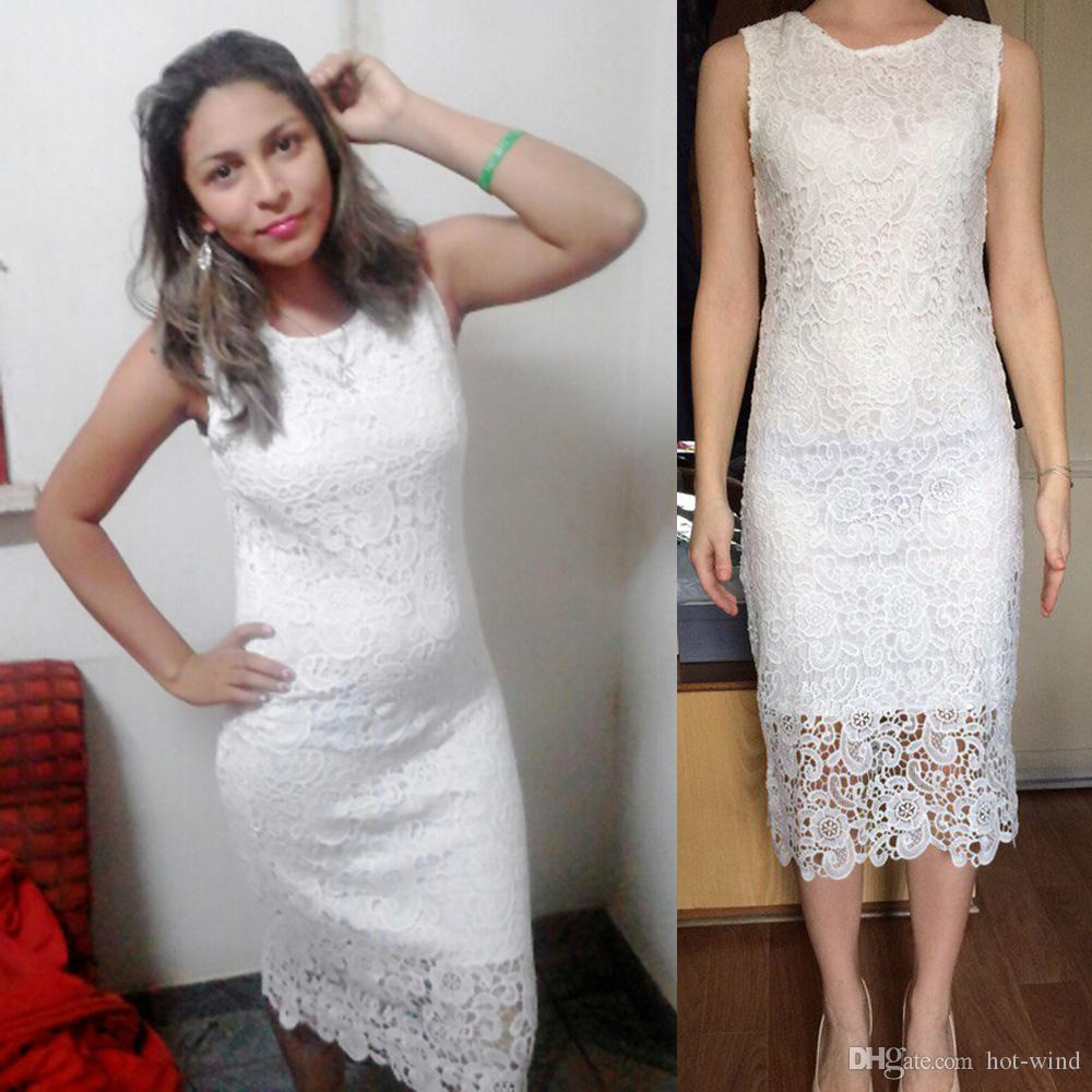 Cheap white plus size dresses for women