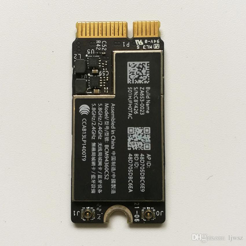 4 0 Bluetooth Wifi Airport Card BCM94360CS2 802 11ac For Macbook Air 11  A1465 13 A1466