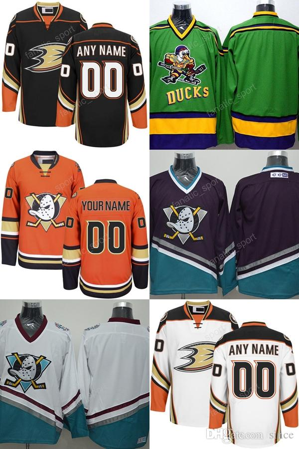 new concept d7738 18c28 2016 New, Free Ship Custom Anaheim Ducks Jerseys Black Orange 2014 Stadium  Series Jerseys Stitched Mighty Ducks Of Anaheim Hockey Jerseys