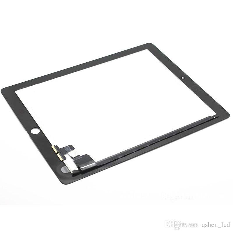100% Test For iPad 2 Touch Screen Digitizer Assembly Front Glass Panel Replacement Parts High Copy