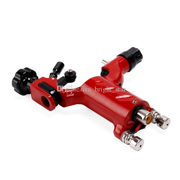 Hot Sales! Red Color Dragonfly Rotary Tattoo Machine Gun For Tattoo Needle Ink Cups Tips Kits