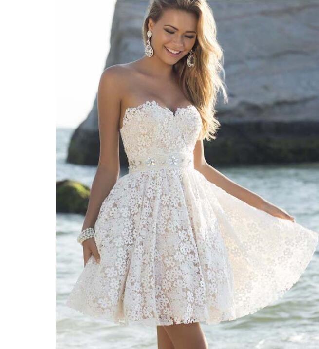 2017 Cheap Formal Rose Short Bridesmaid Dresses / Strapless ...