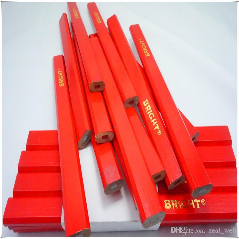 2020 جديد 50 قطع hb واسعة شقة قلم رصاص قلم رصاص diy الحرف اليدوية أداة لغرض خاص القرطاسية نوعية جيدة