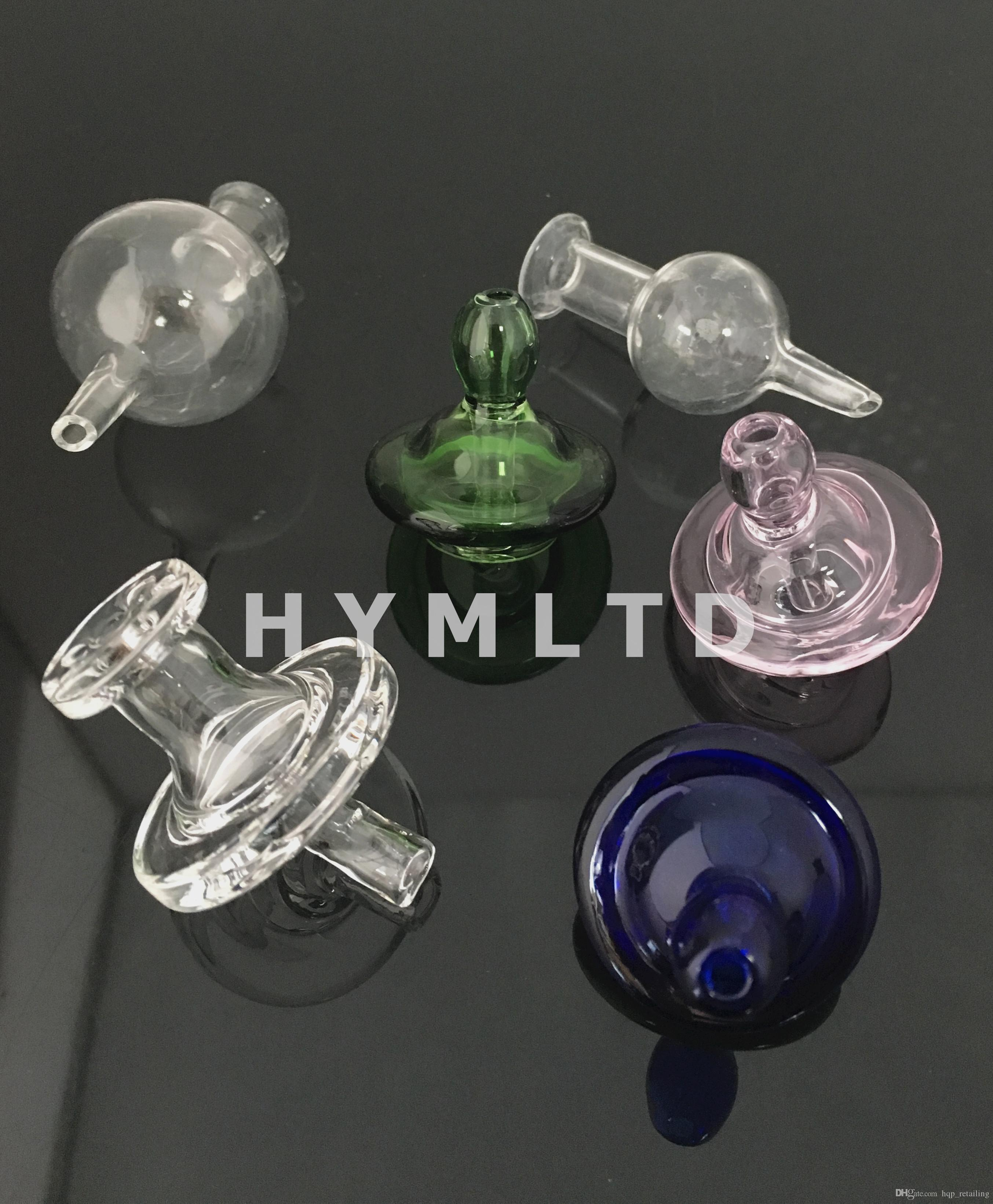 Colored Hover Cap Glass Carb Cap Matching Thermal Quartz Banger Nail