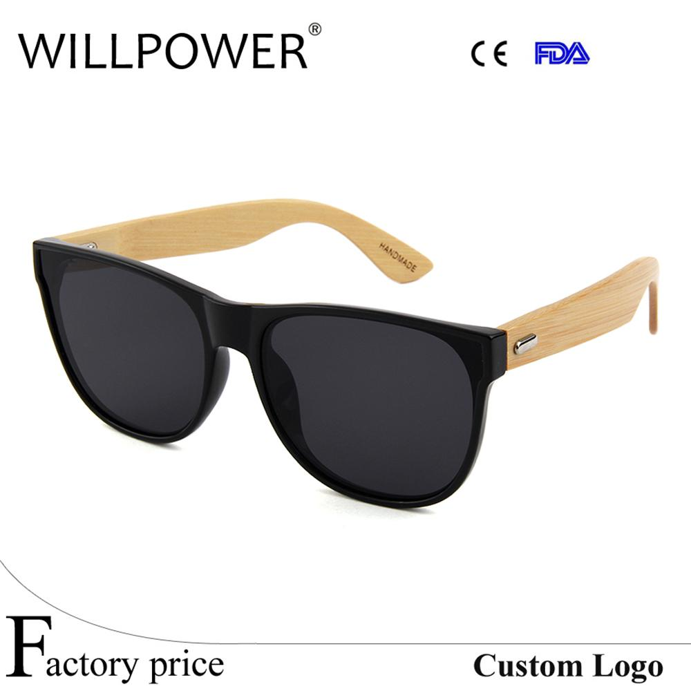 dbb5f2862c Willpower Bamboo Sunglasses Men Wooden Sun Glasses Women Brand Designer  Mirror Original Wood Glasses Oculos De Sol Masculino Bolle Sunglasses  Electric ...