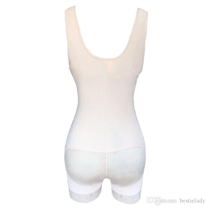 النساء بعد الجراحة الدانتيل تنحنح الكامل bodyshaper underbust التخسيس الخصر المدرب البطن تحكم داخلية بعقب رافع اللاتكس زيبر الجسم المشكل