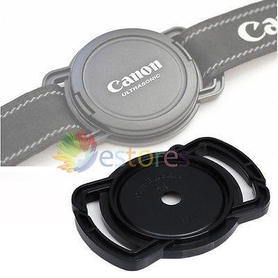 Wholesale-2PCS Camera prevent lost Lens Cap Buckle Holder Protection cover For 43mm 52mm 55mm Sizes by Buckle WIth Tracking Number