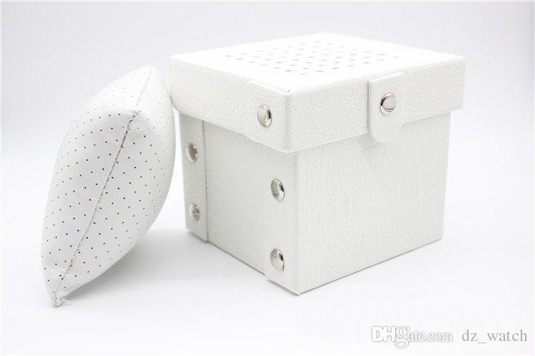 2017 Mode Célèbre Marque boîte de montre de luxe boîte de montre avec oreiller paquet boîtier montre Boîte de rangement de bijoux boîte