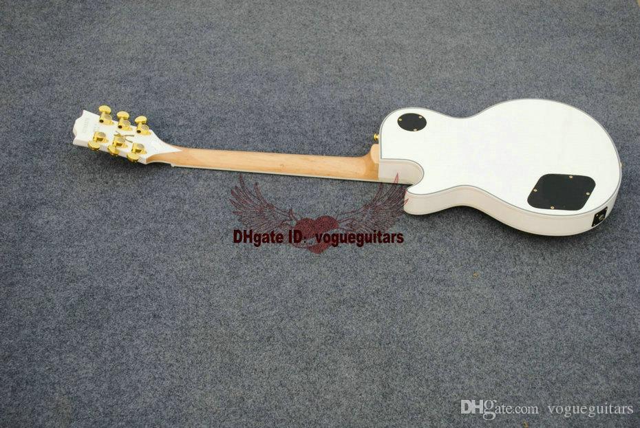 Zakk Wylde Bullseye schwarz EMG Aktive Pickups 81/85 E-Gitarre Kostenloser Versand