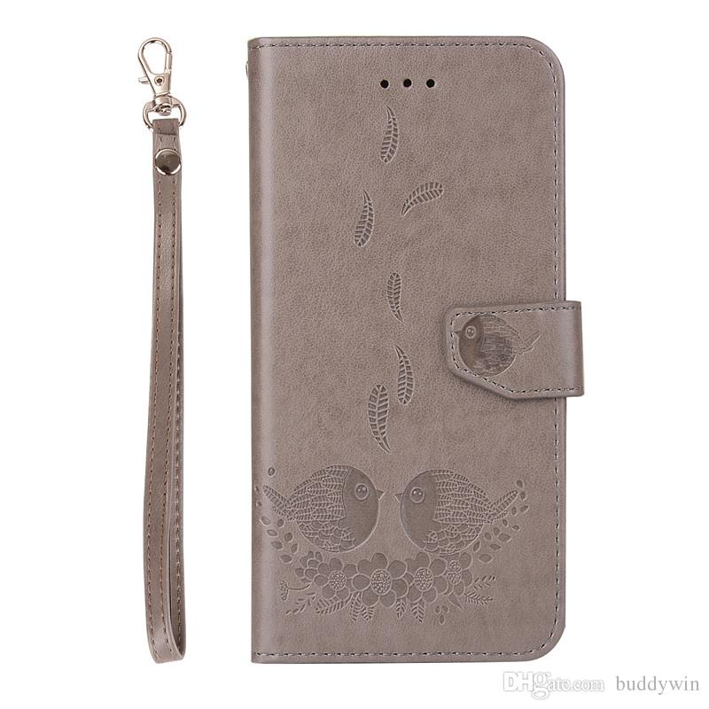 PU Leather Wallet Cover Multi-functional 2 in 1 Leather Pouch Case With Card Sot Stand For iphoneX XS Xmax XR iphone 7plus 7 6plus 6 5