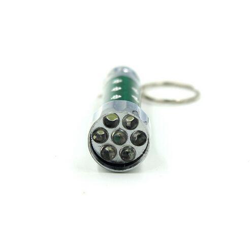 Niedrigster Preis Freies FEDEX / RA 7 LED Mini-Taschenlampen-Fackel-Schlüsselketten-Schlüsselring-rotes grünes blaues weißes Keychain Freies Verschiffen