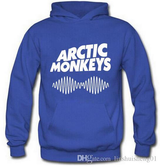 2017 New High Quality Fashion Hooded Arctic Monkeys Loose Casual Pullover Long-sleeve Sweatshirts Hoodies