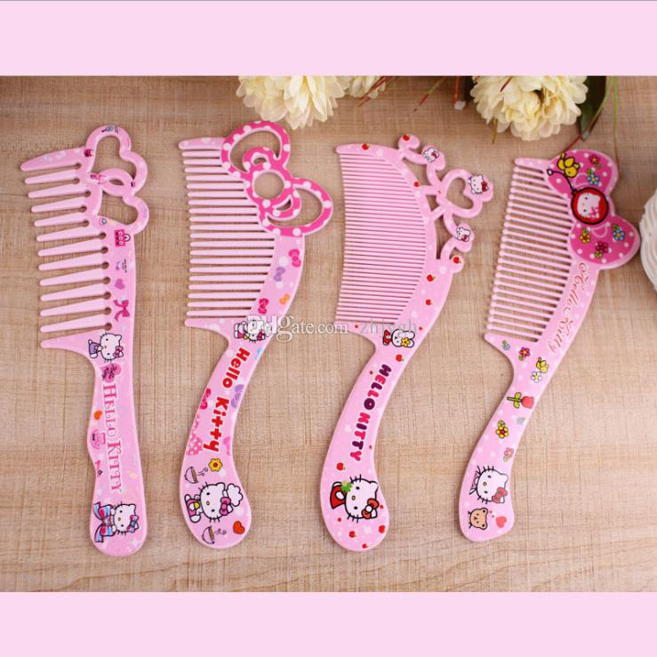 9403fe137 Hot KT Hello Kitty Cute Cartoon Plastic Comb,Exquisite Children Make Up  Comb,Detangling Hair Brushes Good Detangling Brush From Zhjygh, $0.88|  DHgate.Com