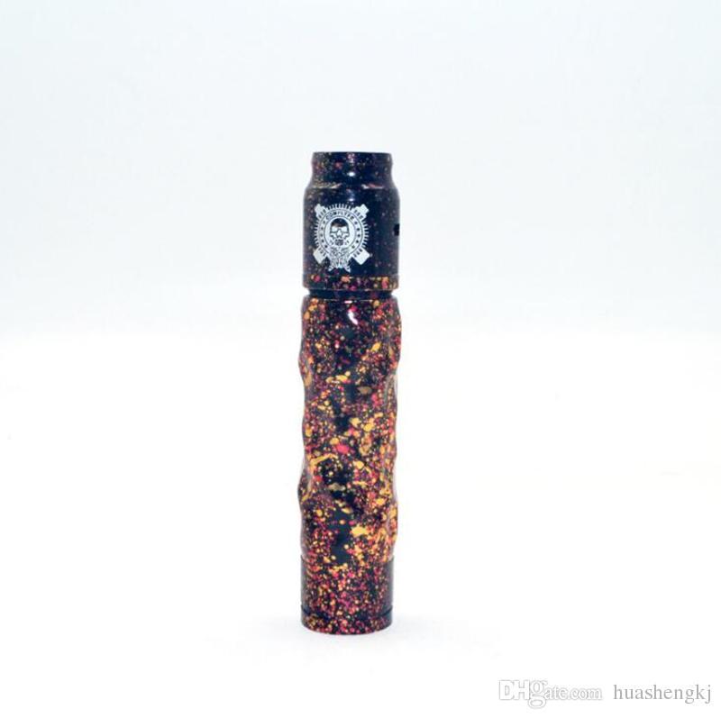 El más reciente Avidlyfe mod kit de Avid lyfe AV Twistgyre 18650 cigarrillo electrónico 510 hilo de DHL Vape Comp Lyfe dosis diaria recomendada de alta calidad