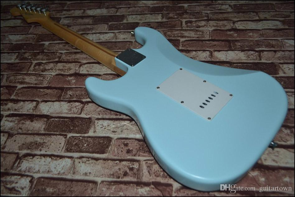 Venda por atacado - alta qualidade mais novo azul guitarra elétrica Top instrumentos musicais HOT