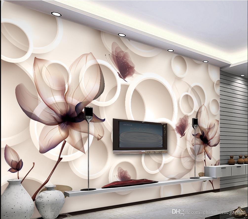 Magnolia Flower Tv Background Wallpaper 3d Living Room Murals Wall Stickers  Mural 3d Wallpaper 3d Wall Papers For Tv Backdrop Wallpapers Free Hd  Wallpapers ...