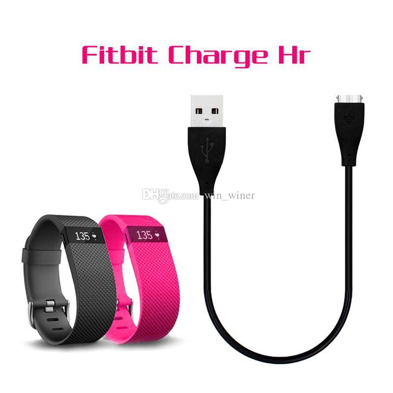 27cm USB Charger Charging Cable For Fitbit Charge HR Smart Wristband good quality new arrival