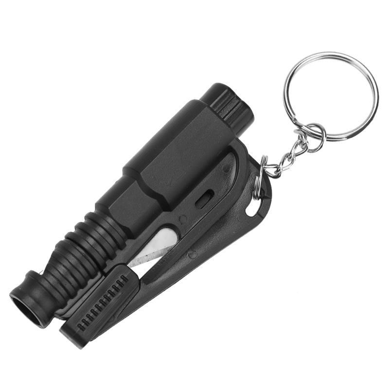 3 in 1 Emergency Mini Safety Hammer Auto Car Window Glass Breaker Seat Belt Cutter Rescue Hammer Car Life-saving Escape Tool