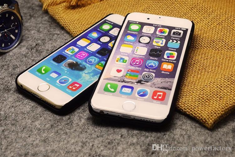 Retro- natürliche Weinlese-Walnuss, die hölzerne Kasten-Abdeckung für Iphone 7 6 6S Plus 5S harte hölzerne PC Bambushandy-Fälle schnitzt