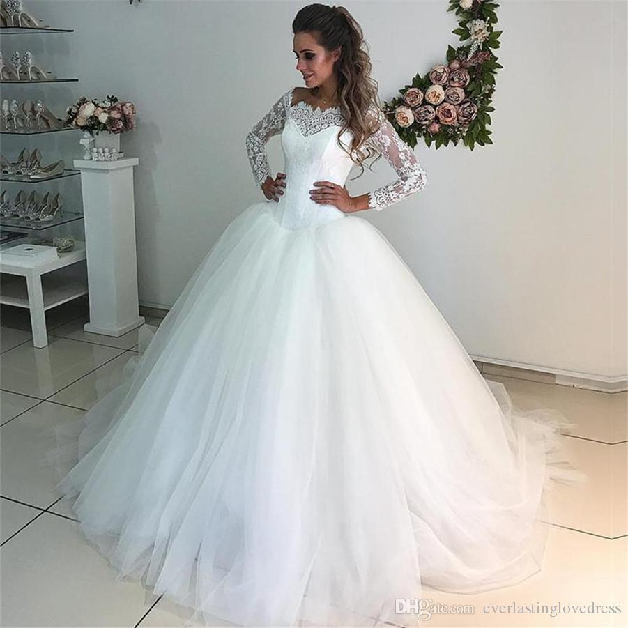 Fine Vestidos Novia Tul Adornment - Wedding Dress Ideas ...
