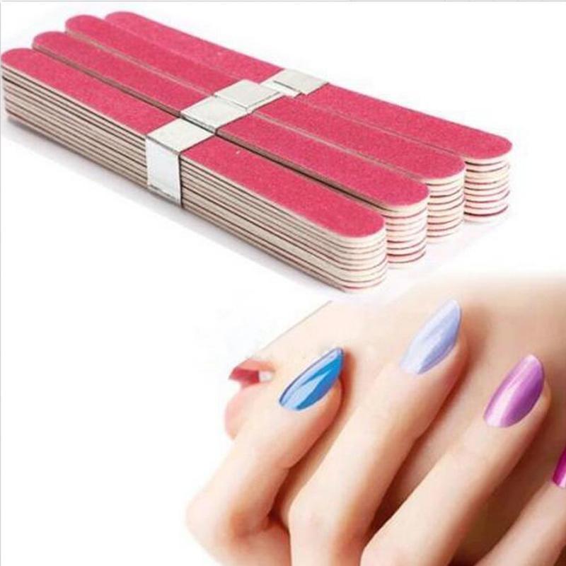 Wholesale Nail Art Pedicure Manicure Buffer Sanding Files Wood Block ...