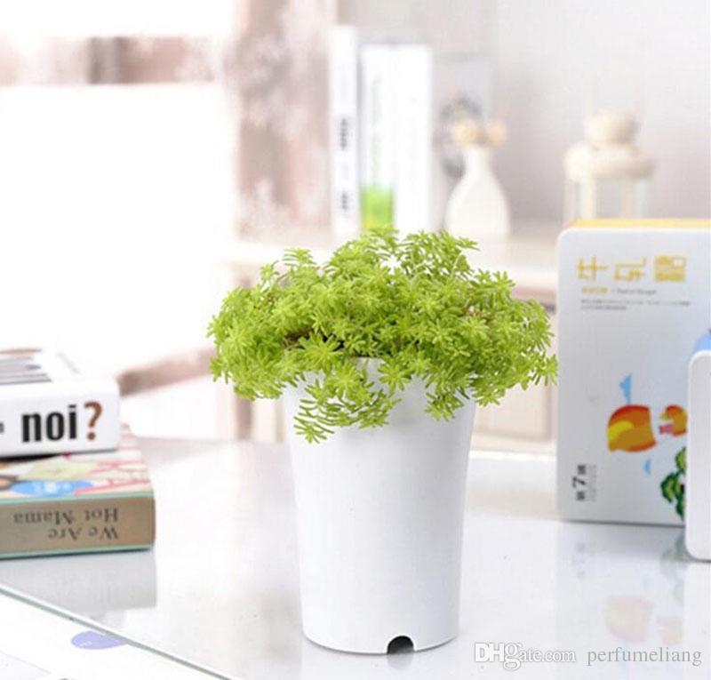 7.7*9.5cm Dull Polish Plastic Pots for Plants Cuttings & Seedlings Durable Mini Flower Nursery Living Garden Planters ZA3522