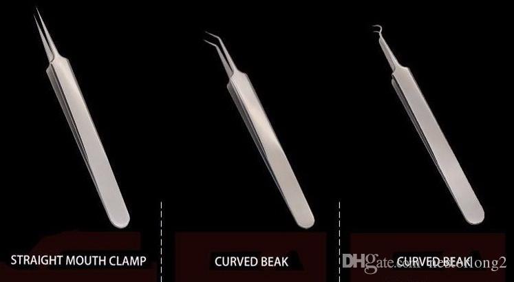 Venda quente novo Aço Inoxidável Cravo Blackhead Removedor Kit Needle Blemish Acne Pimple Extractor Maquiagem Ferramentas