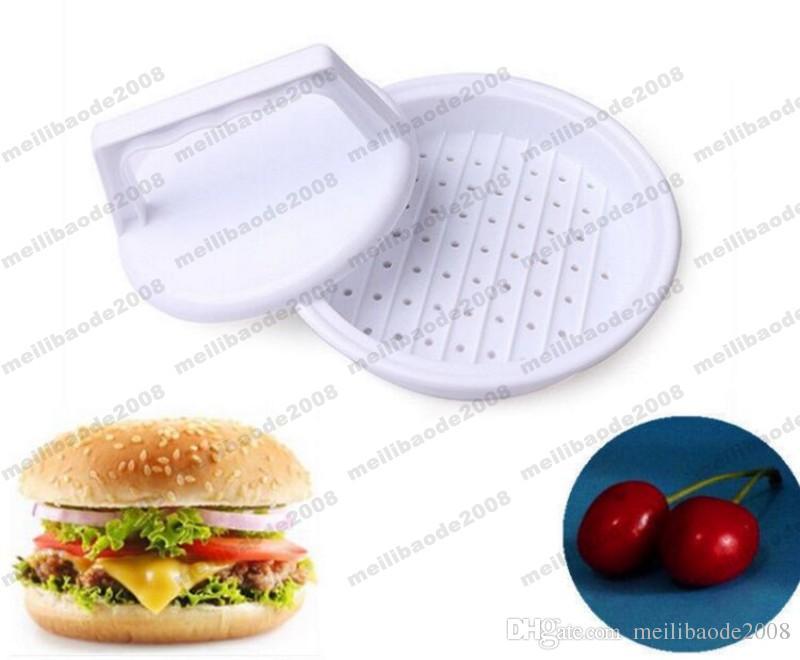 2017 Plastic Burger Press Hamburger Meat Beef Grill Cooking Maker Kitchen Mold MYY