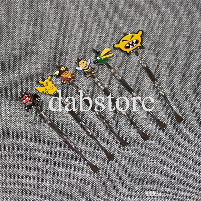 New design Stainless steel ecig dabber tool titanium dab nail for wax skillet snoop atomizer g Pro vaporizer pen