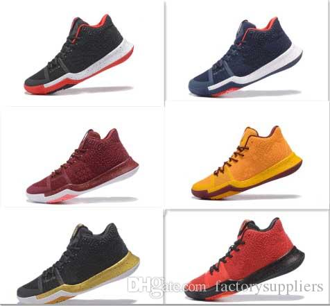 new style e727a 93a88 2017 Quality Latest Kyrie Irving Shoes Kyrie 3 Men u0027S Basketball Shoe  Zoom Air Lighter