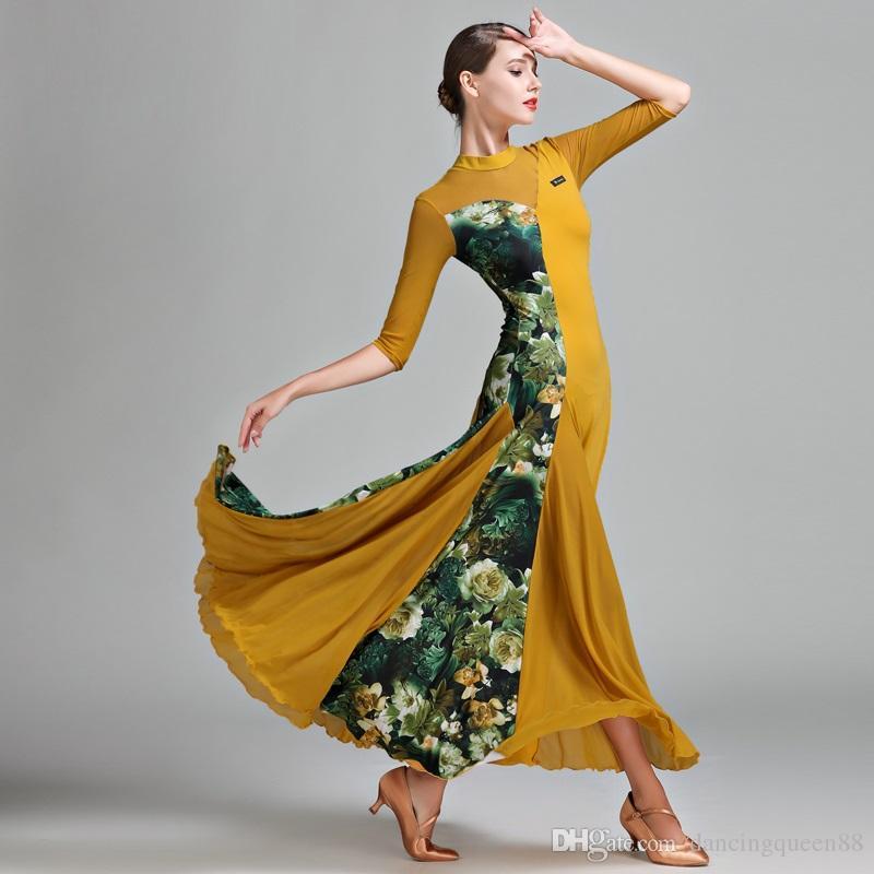 539610fe6 2018 Ballroom Dress Woman Ballroom Waltz Dresses Ballroom Dance ...