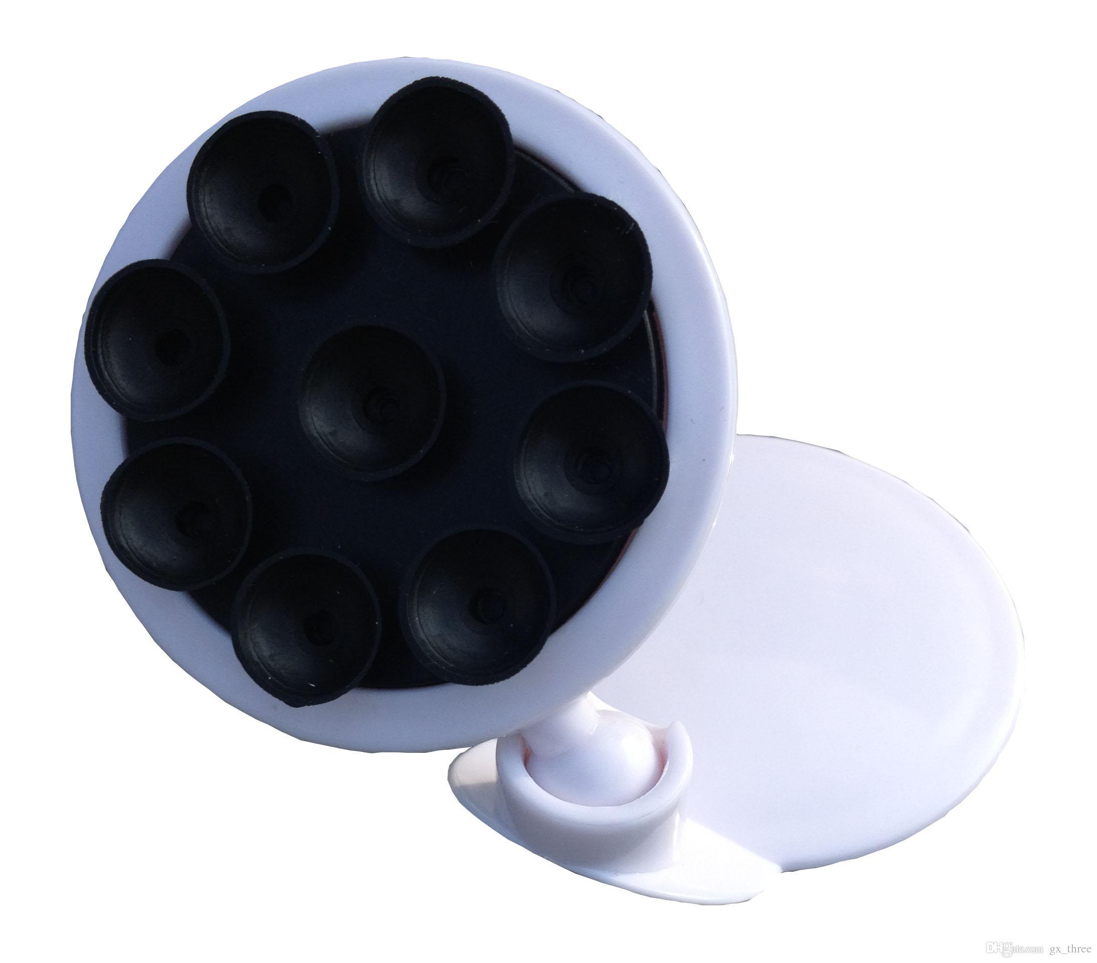 Черный цвет горячая распродажа подставки Мобильный телефон Multifuction Размещение света и небольшой настольный и автомобильный автомобиль Подставка для мобильного телефона
