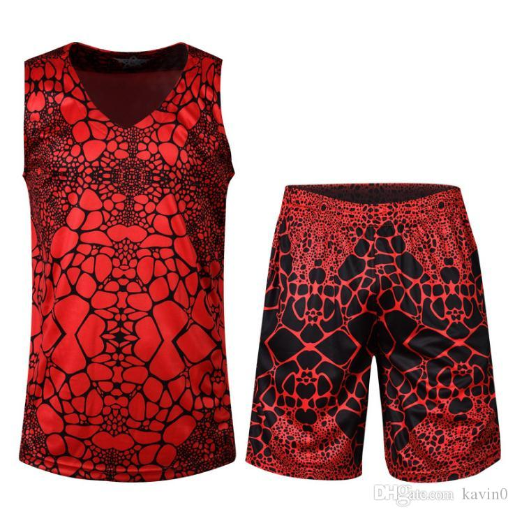 6d4714c75c2 2019 NEW 2017 Outdoor Summer Basketball Male Custom Jerseys Summer Blowout  Camouflage Sports Joggers Uniform Suits Breathable Absorbent Tracksuit From  ...