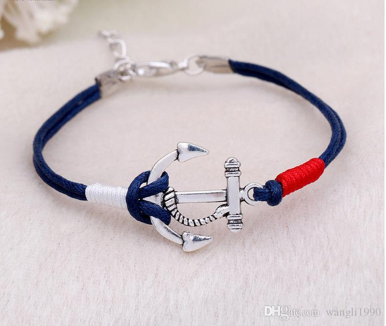 products shackle nautical adjustable bracelet by marion bran