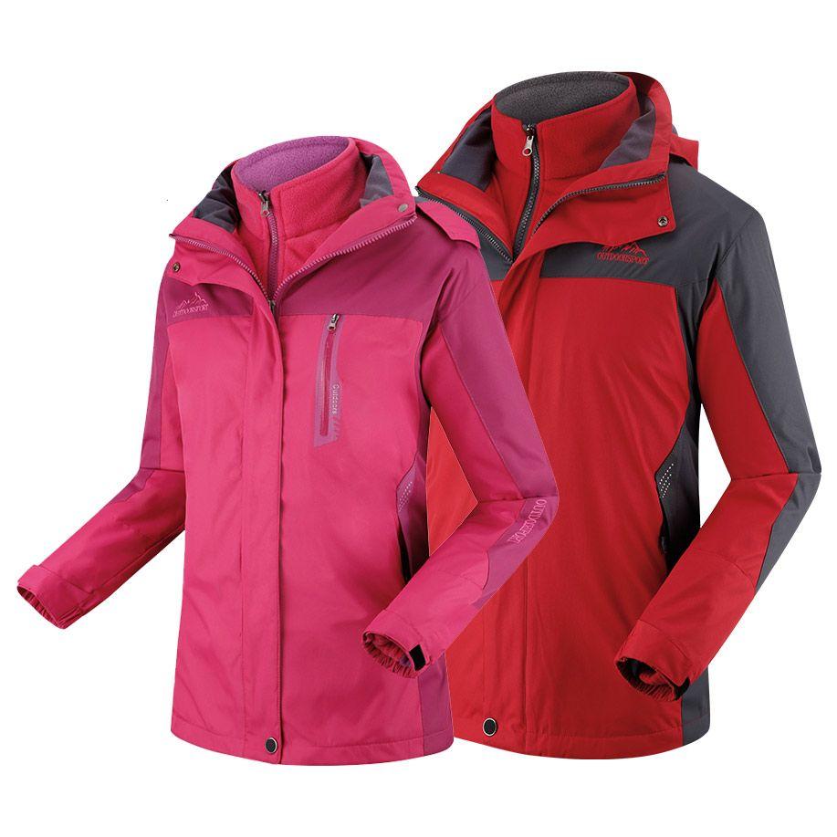 dcd91191e4 Wholesale- Spring Winter Men Women Jacket Jaqueta Coat Fashion Men Tourism  Mountain Jackets Waterproof Windproof Mountain Jacket Coat Men Fashion Coat  Men ...
