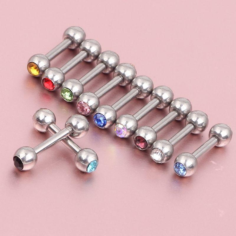 New arrival helix ear ring ES06 body jewelry ferido cystal