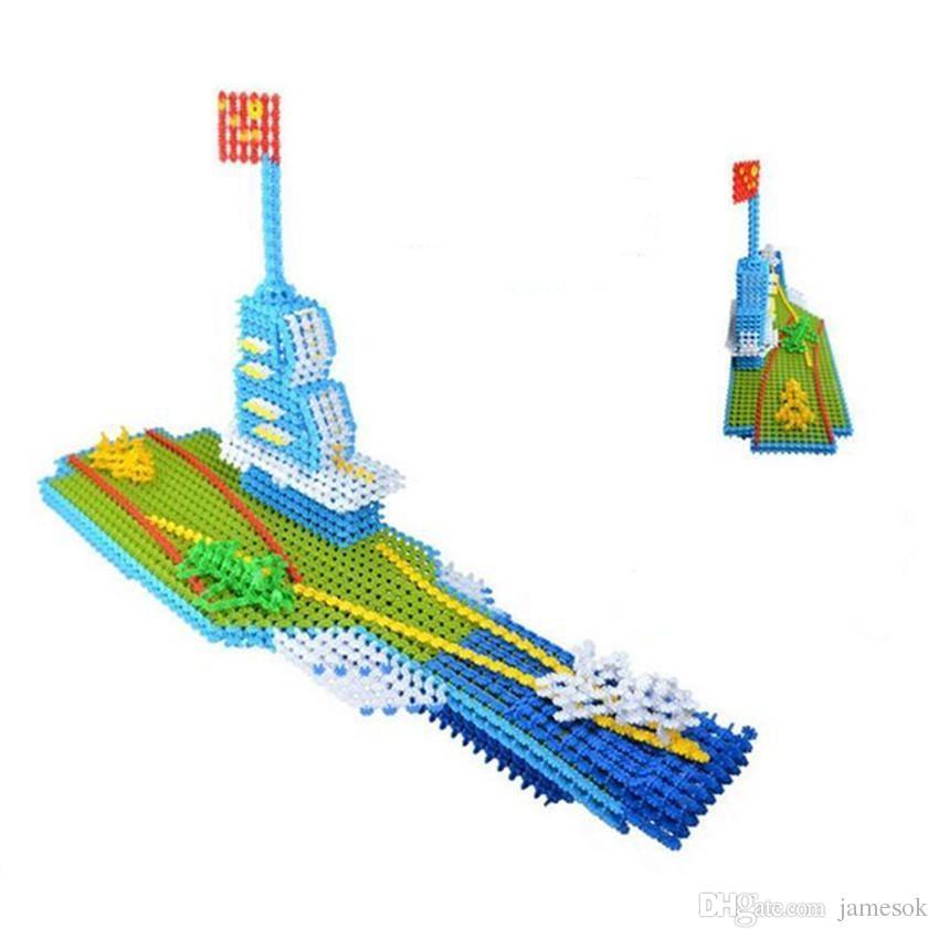 Rompecabezas 3D Rompecabezas Bloques de Construcción de Copo de Nieve Modelo de Construcción Rompecabezas Juguetes Educativos Para Niños c009