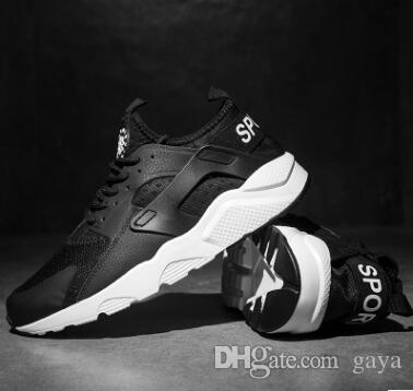 4b86f708859 Cheap Air Huarache 2 Ii Ultra Classical All White And Black Huaraches Shoes  Men Women Sneakers Running Shoes Size 36 44 Online For Sale Scholl Shoes  Leopard ...