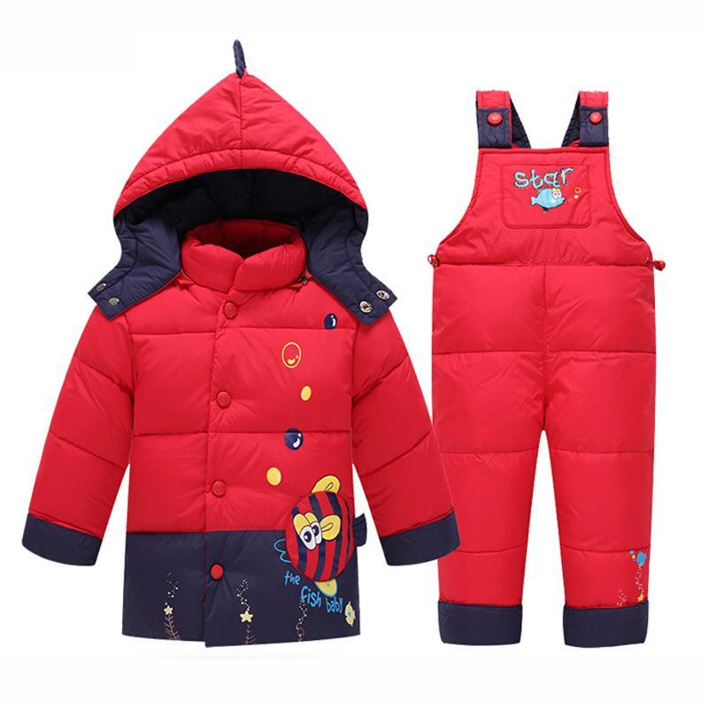 Kids Clothes Baby Boys Girls Winter Jacket Down Warm Coats ...