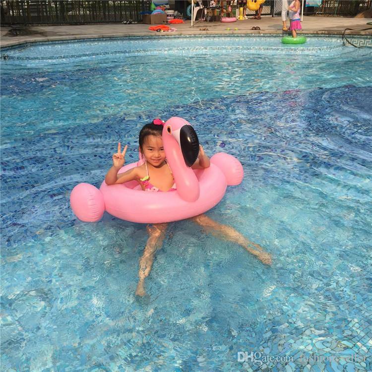 Inflável Crianças Flutuante Piscina de Natação Praia Brinquedos Bóia de Vida Crianças Esportes Aquáticos Bebê Natação Voltas Verão Flutuadores Infláveis DHL / Fedex