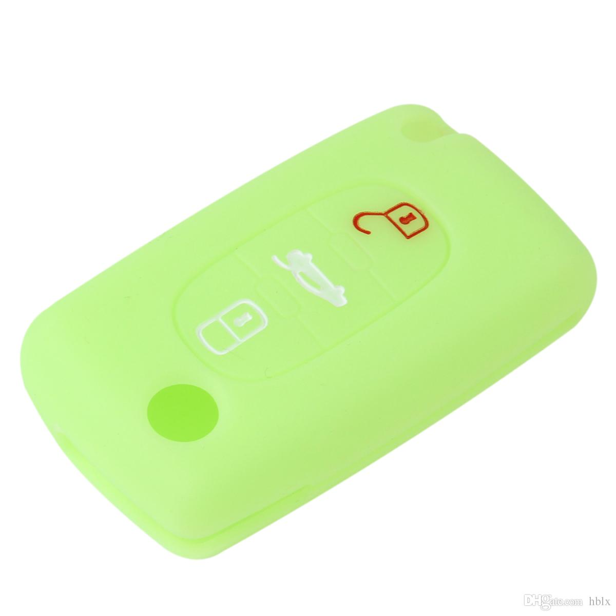Remote 3 Buttons Key Fob Case Silicone Cover fit for CITROEN C2 C3 C4 C5 C6 Picasso AUP_40H