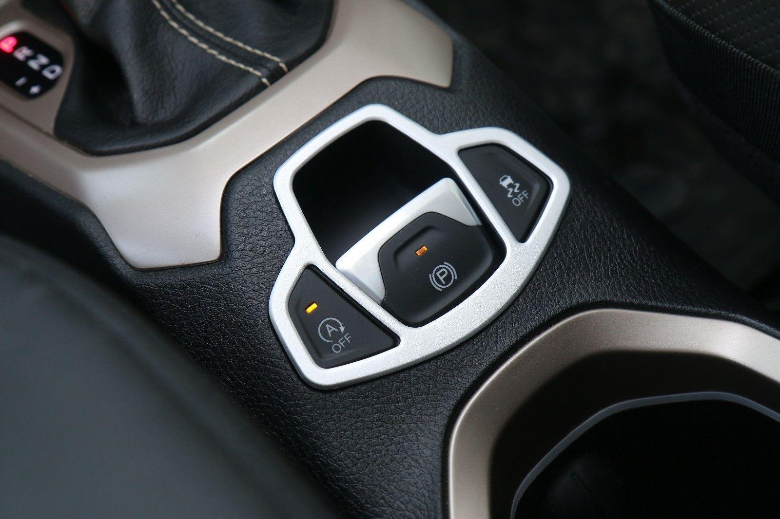 Electronic handbrake decorative frame Cover Trim for Jeep Renegade 15-16