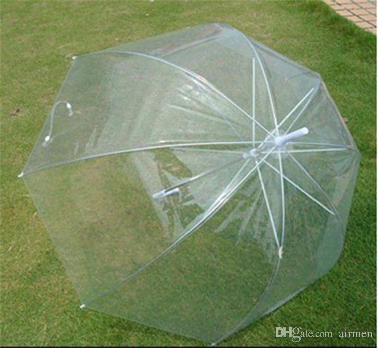 Vente chaude De Mode Apollo Parapluie Transparent Clear Bulle Parapluie Pour Les Filles Champignon Parapluie Livraison Gratuite