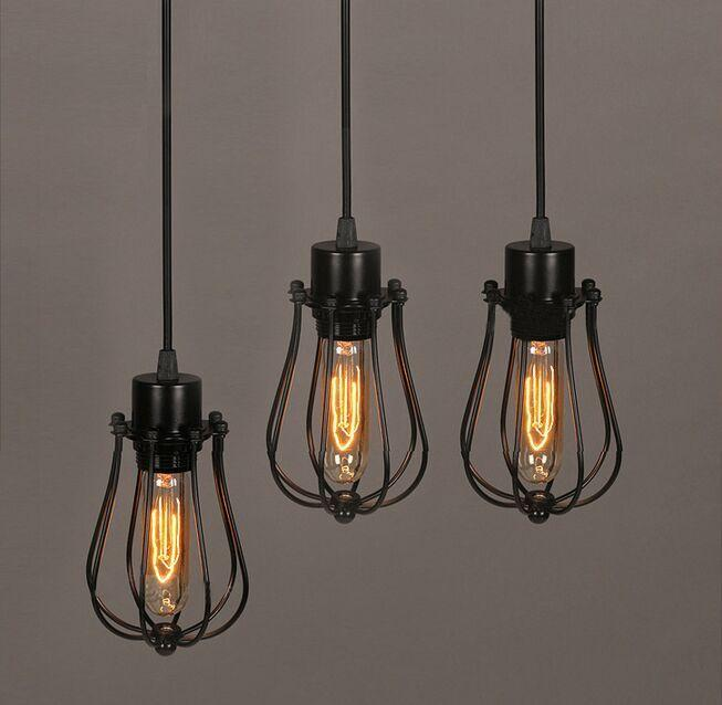 Acheter Ampoule Vintage Lampe Suspension Industrielle Edison 1 Abat