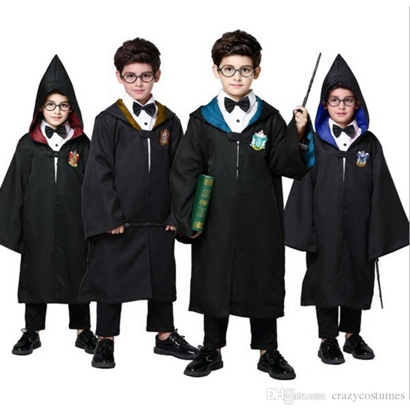 751bbe1f7b45 Halloween Party Harry Potter Fancy Dress Gryffindor Anime Cosplay Harry  Potter Costume For Kids And Adult In Stock Group Kids Costumes Costumes For  Six ...